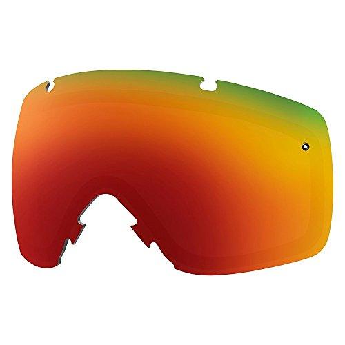 Smith I/O ersatzbrillenglas, unisex, Red Sol-X Mirror