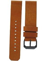 slow slow band 23 - Bracelet pour montre, cuir, couleur: marron