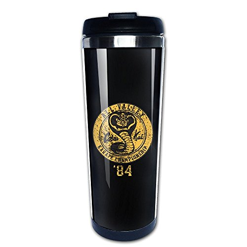 41n2zr78zXL - Taza take away de Cobra Kai negra