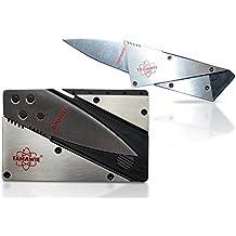 Tamawie® TC200 Kreditkartenmesser Kartenmesser Scheckkartenmesser Faltmesser Klappmesser