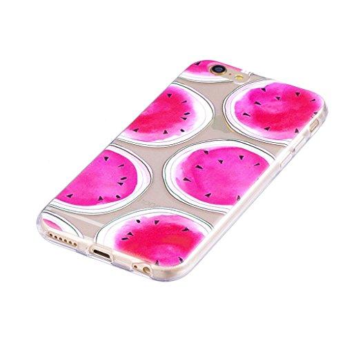 Per iPhone 6 / iPhone 6S Cover , YIGA corona imperiale Cristallo Trasparente Silicone Morbido TPU Case Shell Caso Protezione Custodia per Apple iPhone 6 / iPhone 6S (4.7) LF4