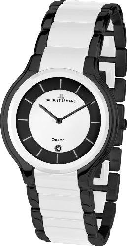 Jacques Lemans Dublin 1-1581E Men's Ceramic Bracelet Watch
