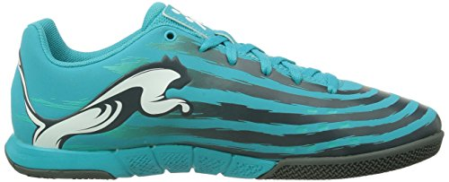 Puma - Trovan Lite, Scarpe da calcio Donna Arancione (Orange (scuba blue-white-black-pool green 07))