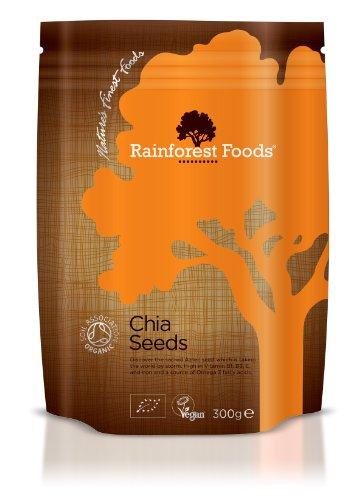 Rainforest Foods Chia Samen, 1er Pack (1 x 300 g) - Bio