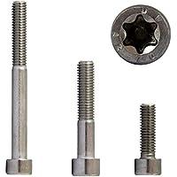 Zylinderschrauben Schlitz DIN 84 M2x20 EDELSTAHL A2 Flachschrauben 50 St