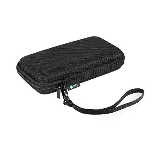 EC Technology Festplattentasche 2,5 Zoll, PowerBank Tasche, Festplatten Case, Externe Festplatte USB3 1TB Tasche für 20000mAh Powerbank, USB-Stick, SD/TF-Karten, USB Kabel, USB Stick, Stoßfest SSD