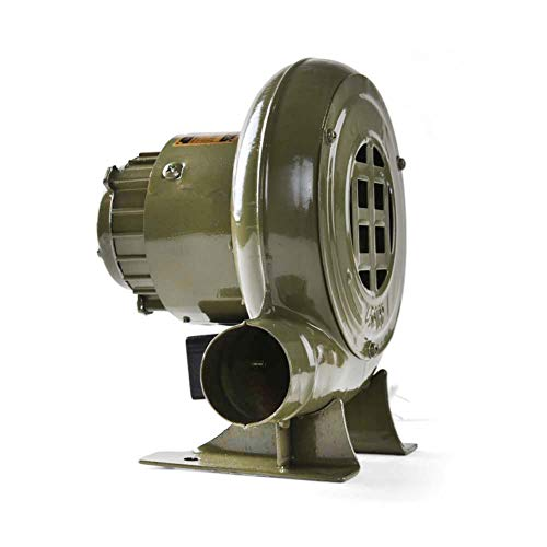 JXS Elektro-Grill-Gebläse - 220V reines Kupfer Motor - Tragbarer Kamin Fan - für Barbecue,100W