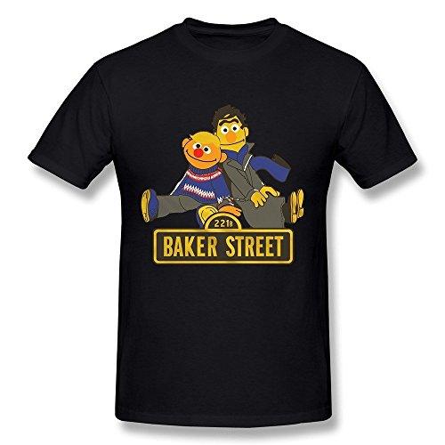 Baker Ernie (Herren's Bert & Ernie Baker Street T-Shirt)