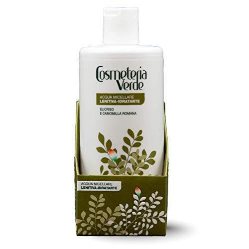 Sofortiges Micellar Wasser Cosmeteria Verde - Es ist eine Reinigungslösung, die eine maximale Zartheit mit einer ausgezeichneten feuchtigkeitsspendenden und beruhigen Fähigkeit gibt.