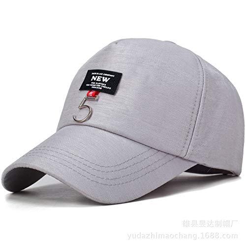 zlhcich Versión Coreana de la Personalidad de la Gorra de béisbol Gorra Salvaje Sombrero de Flores Sombrero de Hierro Sombrero de Calle estándar