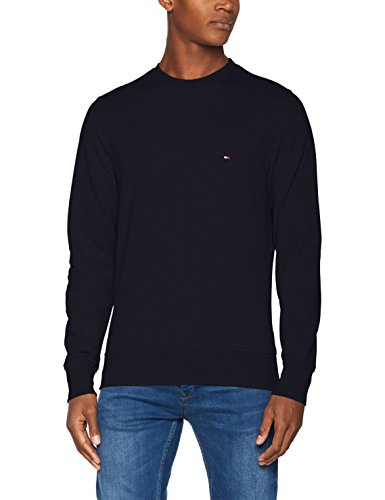 Tommy Hilfiger Herren Pullover Core Cotton Sweatshirt, Blau (Sky Captain 403), X-Large