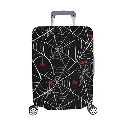 appy Halloween Red Spider Webs Spandex- Staubschutz Trolley Protector case Reisegepäck-Schutzkoffer-Abdeckung 28,5 X 20,5 Zoll ()
