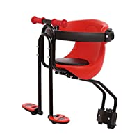 COEWSKE Kids Bike Seat Bike Front Seat Bicycle Chair Seat for Mountain Bike (Red)