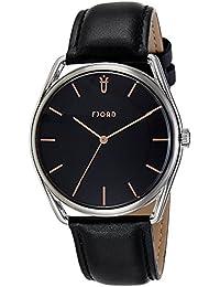 Fjord Analog Black Dial Men's Watch - FJ-3022-01