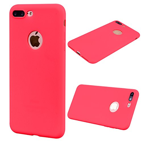 custodia iphone 8 plus color rosso