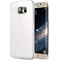 vau Snap Case Slider - glossy white - zweigeteiltes Hard-Case für Samsung Galaxy S6 Edge