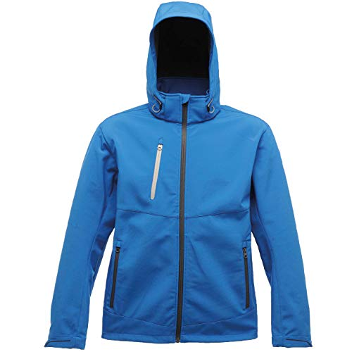 Regatta Herren X-Pro Drop Zone 3-Layer Soft Shell Jacke, oxfordblau, S 3 Layer Soft Shell