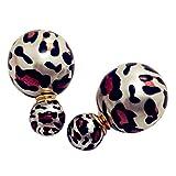 Amour Multicolor Plastic Stud Earrings F...