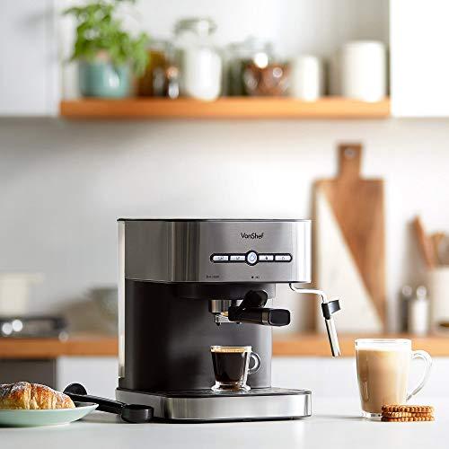 VonShef 15 Bar Pressure Pump Espresso Machine