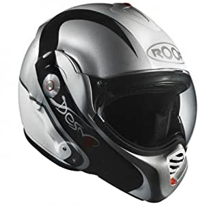 Roof - Casque Modulable Desmo Elico Blanc Gris Taille L