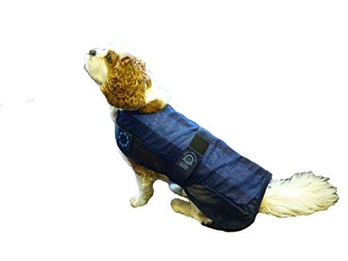Animate Hundejacke, Kühlung und Tasche, X-Large, 61cm, Marineblau - 3