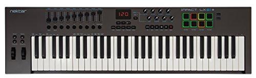 Nektar Impact LX61+ USB MIDI Keyboard Controller mit DAW Integration
