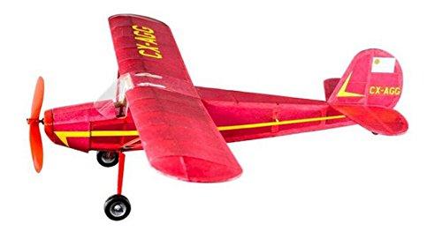 Cessna 140 Balsaholz Maßstab Flugzeug Kit von Vintage Modell Co Spannweite 460mm (Spielzeug Flugzeuge Vintage)