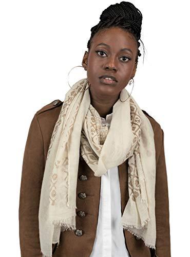 Mer's Style - Fular Bufanda Primavera Mujer, Beige