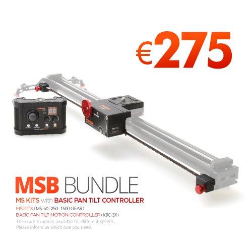Konova MSB Bundle für k2 80cm Schieber(umfasst keine Kamera Slider)