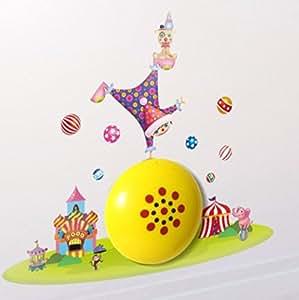 Happy clown intelligente lichtsteuerung 3d wallpaper licht - Wandleuchte baby ...