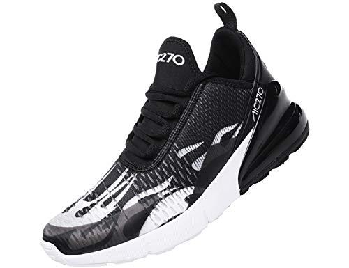 SINOES Zapatillas Hombres Mujer Deporte Running Zapatos para Correr Gimnasio Sneakers Deportiv