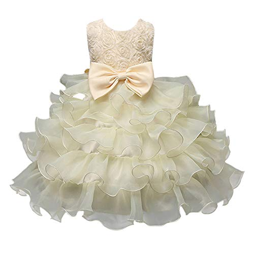 Sommer Baumwolle bunt Flickwerk Blumen Prinzessin Kleider Ärmellos blusen Bowknot Mode Hochzeit Dress Mädchen Gemütlich Party Oberteile Kleid,2-8 Jahren alt