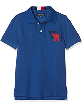 Tommy Hilfiger Ame Track Badge S/S, Polo para Niños