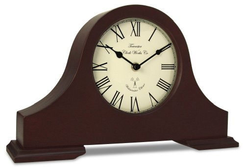 Towcester Clock Works Co. Acctim 77086 Dalton Kaminuhr, Dunkles Holz