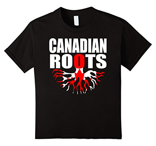 teecastle-canadian-roots-canada-gift-pride-flag-t-shirt-kinder-grosse-128-schwarz
