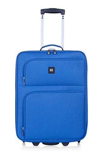 REVELATION Alex - 2 Wheel 55cm Cabin case Blue 2.7kg Valigia, 55 cm, 35 liters, Blu (Blue)