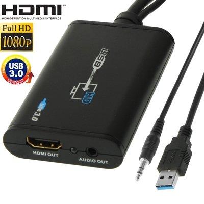 LWL House USB 3.0 zu HDMI HD Video Leader Converter für HDTV, unterstützt Full HD 1080P Durable - Widescreen-1080p-hdtv