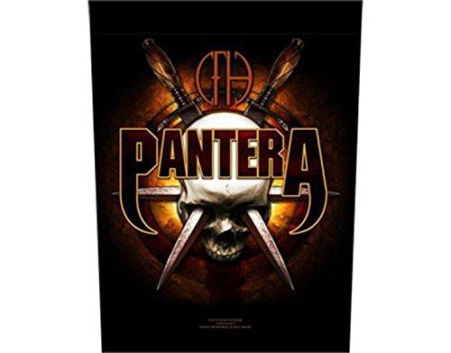 Pantera - Skull and Knives - Grande Toppa/Patch