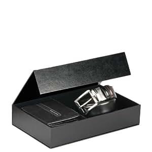 Piquadro cofanetto regalo con portafoglio uomo e cintura for Piquadro amazon