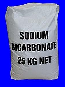 25 kg de bicarbonate de soude sodium de qualit alimentaire poudre lever amazon. Black Bedroom Furniture Sets. Home Design Ideas