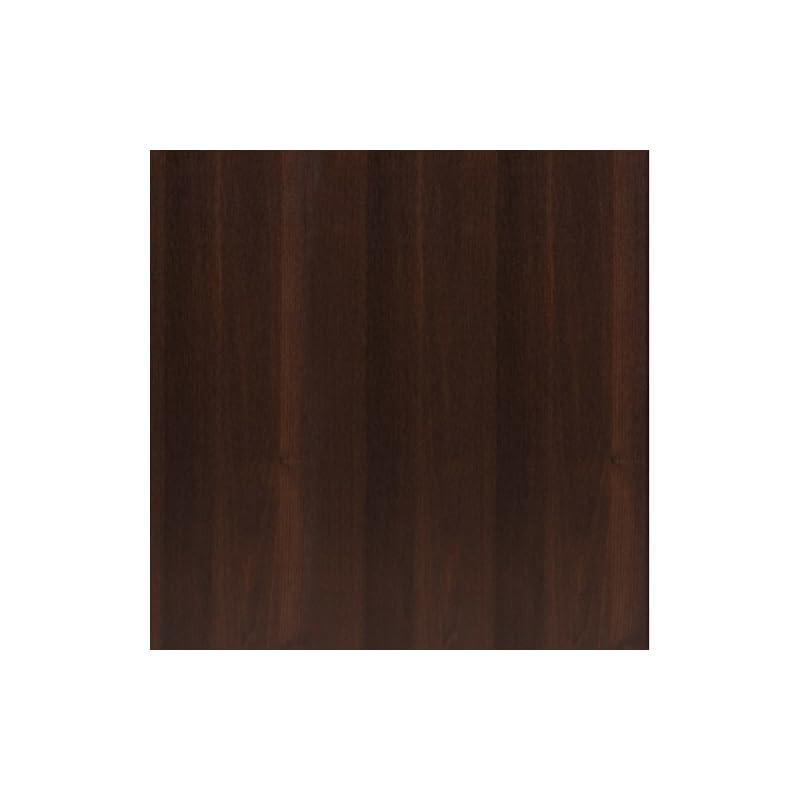 Furniture To Go Tall 2 Drawer Narrow Cabinet Open Shelving, Dark Mahogany