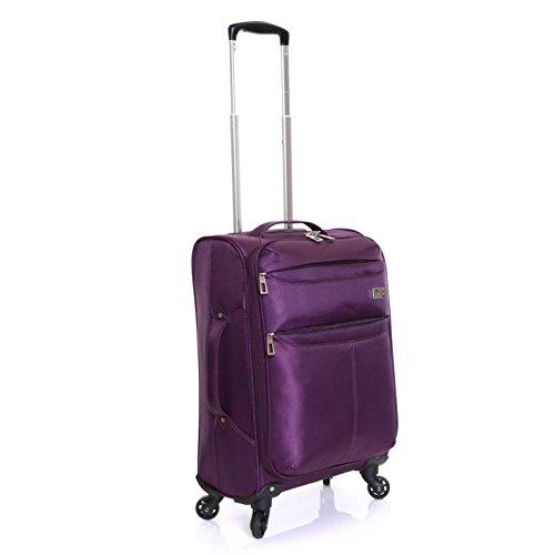 Karabar Marbella 55 cm Maleta superligero, Púrpura
