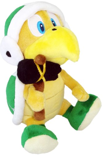 Super Mario - Hammer Plush - Little Buddy - 18cm 7""
