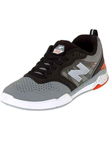 New Balance Numeric 868 Grey/Black Grey/Black
