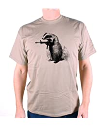 Badger Cull T Shirt by Old Skool Hooligans - The Badgers Fight Back! An Old Skool Hooligans Original Design