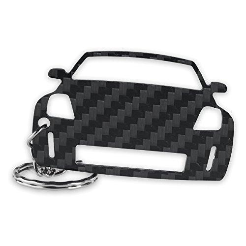Preisvergleich Produktbild ACF Nissan Schlüssel-Anhänger / Echtes Carbon / Geschenk-Idee / Tuning / Nissan 350Z Nismo