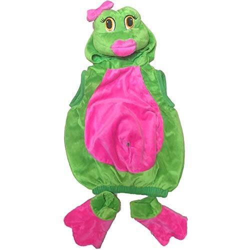 Frosch Dame Küß Mich süßes Fröschlein Baby Mädchen Fasching Halloween Karneval Kostüm 6-12Mon - Küss Den Frosch Kostüm