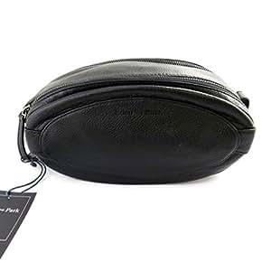 Eden Park [M5797] - Trousse de toilette cuir 'Eden Park' noir (ballon de rugby)