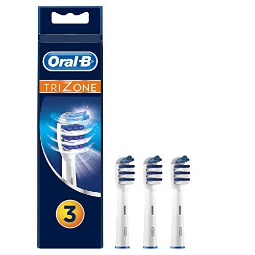 Oral-b trizone testine di ricambio per spazzolino elettrico, 3 pezzi