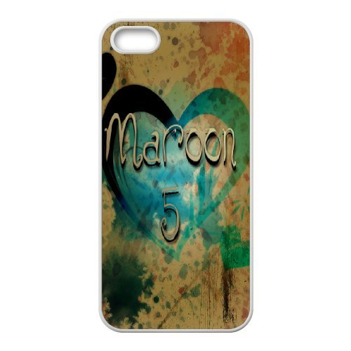 LP-LG Phone Case Of Maroon 5 For iPhone 5,5S [Pattern-6] Pattern-5